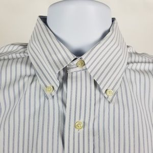 Brooks Brothers Slim Fit Non Iron Striped 16-34